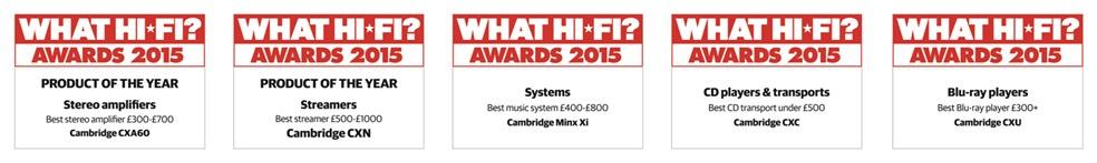 Cambridge Award all 2015