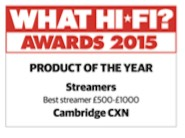 Cambridge Hifi Award CXN 2015