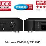 Marantz PM & CD 5005 silbergold & schwarz