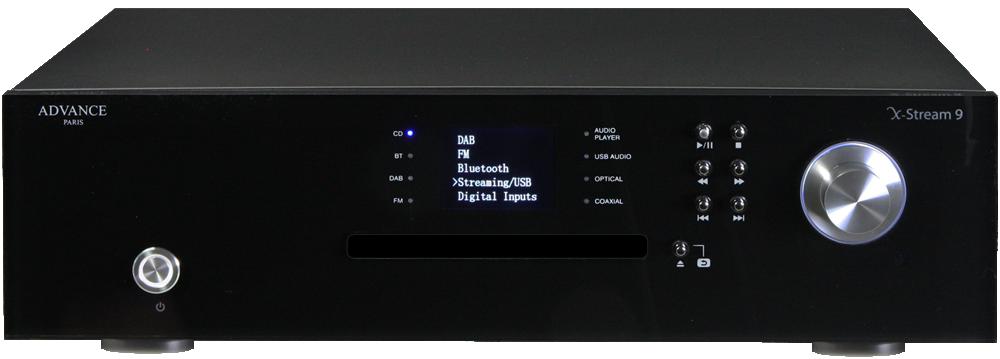 Advance Acoustic X-Stream 9 Netzwerkstreamer